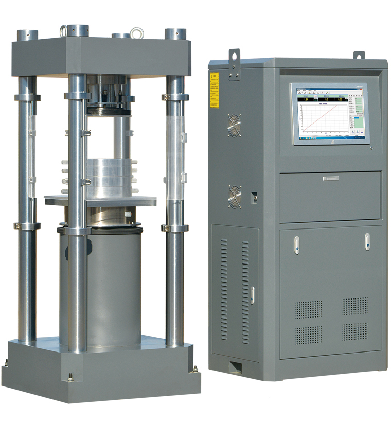 YAW-2000型电液伺服压力试验机