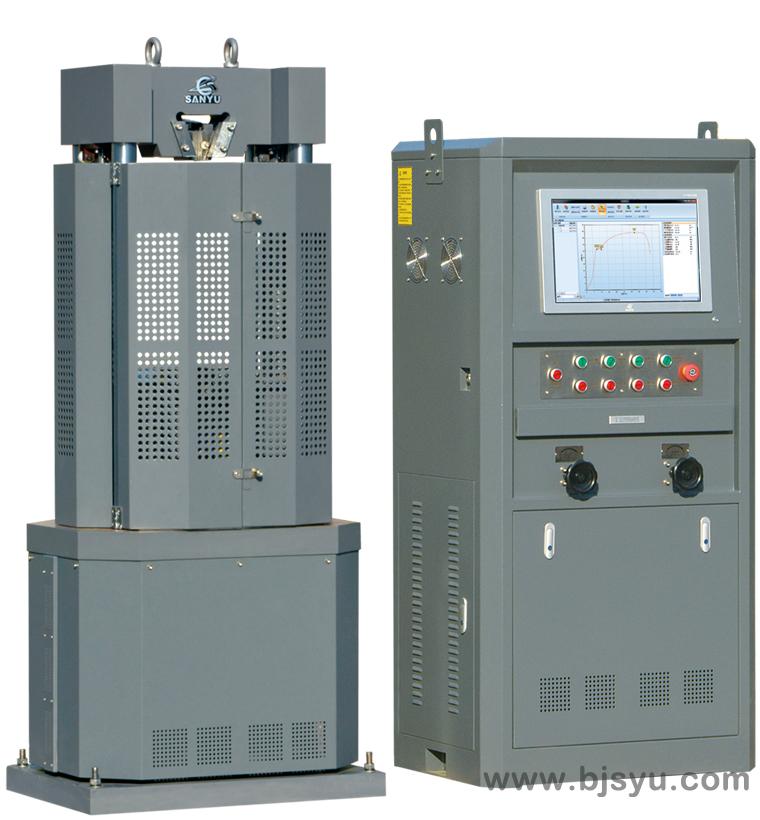 WEW-100B液压式万能材料试验机