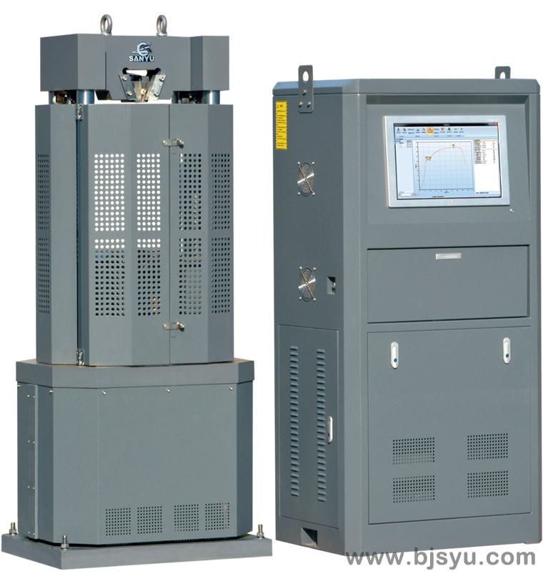 WAW-100B电液伺服万能材料试验机