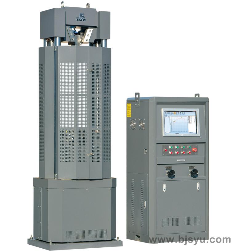 WEW-1000B钢绞线试验机