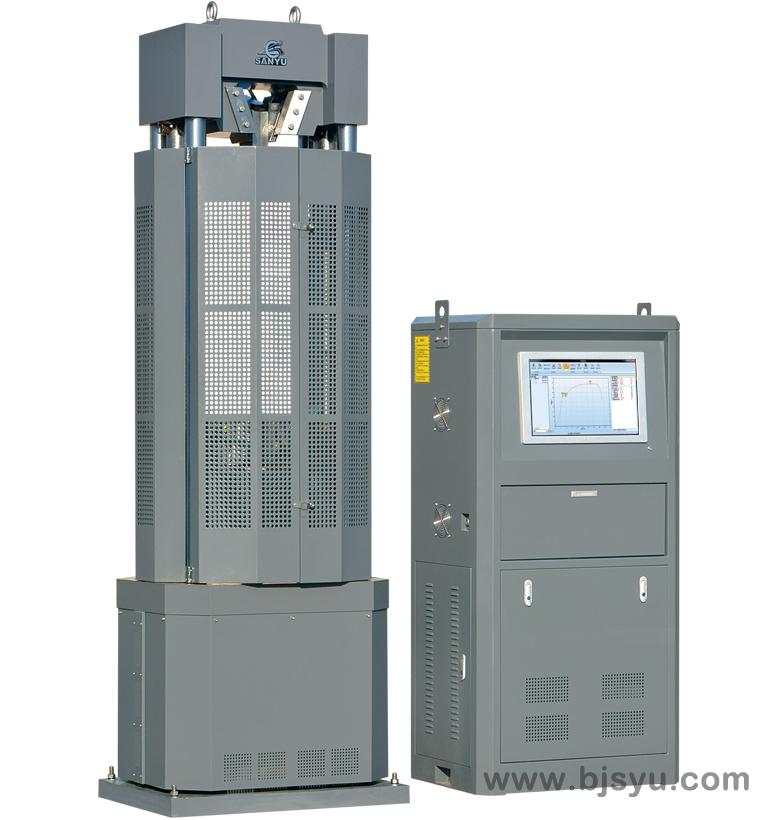 WAW-1000B电液伺服钢绞线试验机